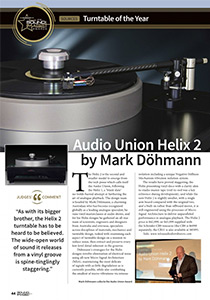 Helix 2 Sound and Image Awards Magazine Review