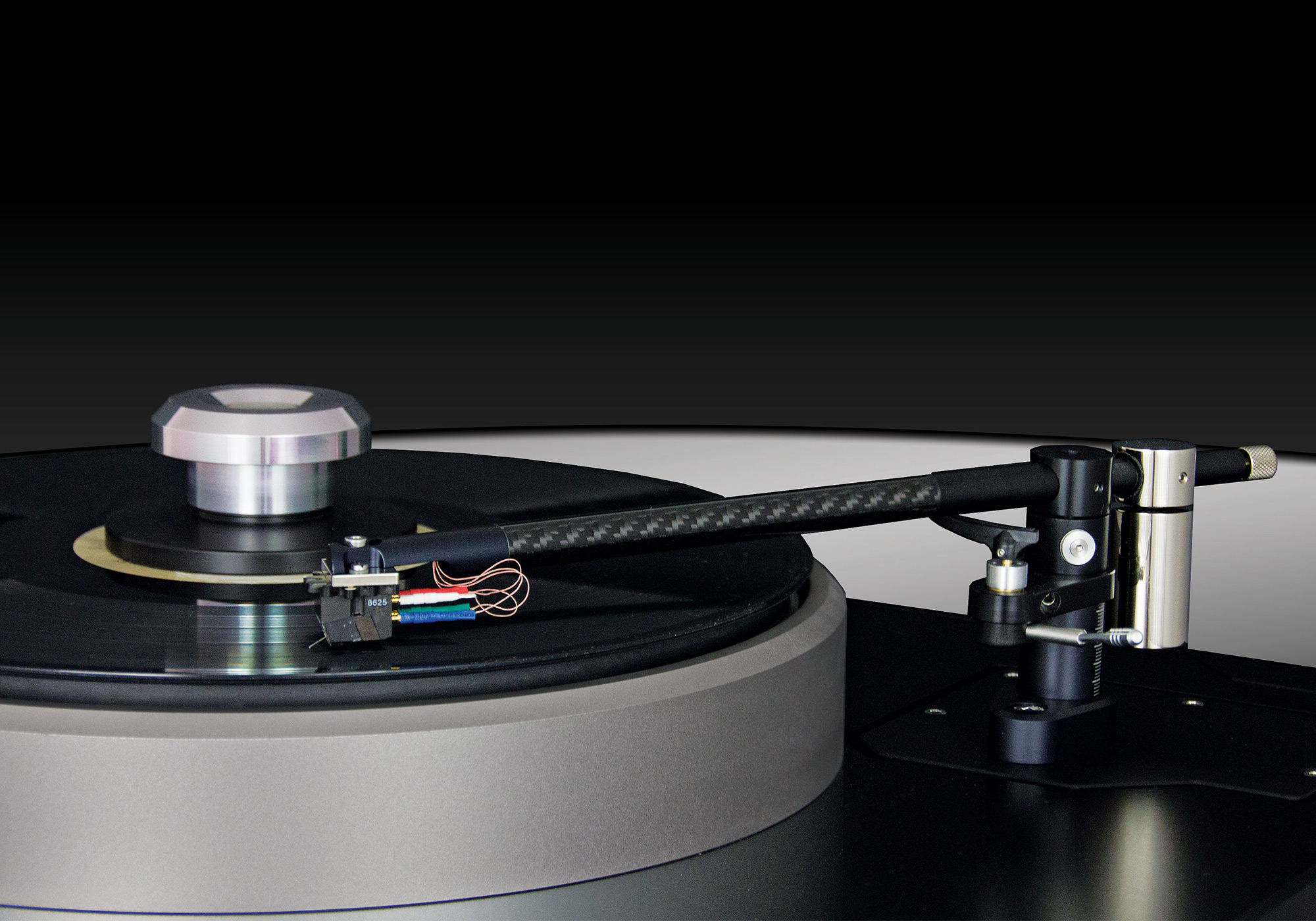 Schröder Cb Tonearm side view