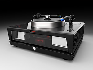 Helix One turntable right side view