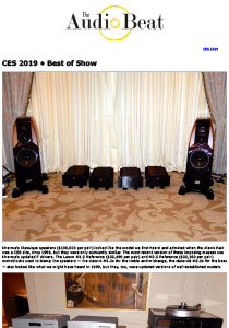 Review: The Audio Beat CES 2019 Best of Show